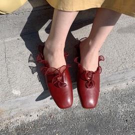 Fashion Lace Half Slippers  NSHU29774
