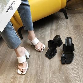 Summer Thick High-heeled Sandals  NSHU29782
