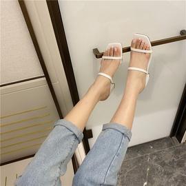 One-flip-flops Thick Heel Sandals NSHU29790