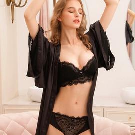 Sexy Pattern Lace Underwear Bra Set  NSSM29860