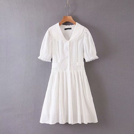 Spring Doll Collar Lace Dress  NSAM29970