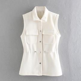 Casual Knitted Woolen Vest Jacket  NSAM29976