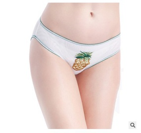 Thin Embroidered Applique Panties  NSCL30119