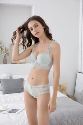 Sexy Lace Embroidered Bra Set  NSCL30122