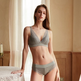 Sexy Retro Lace Underwear Suit NSCL30124