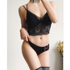 New Lace Underwear Gather Bra NSCL30152