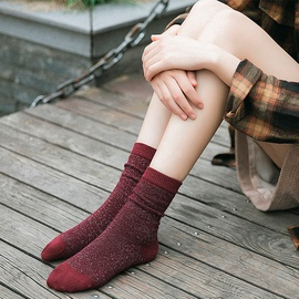 Autumn And Winter New All-match Socks NSFN30178