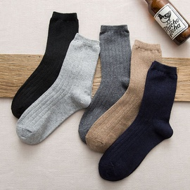 Autumn And Winter Medium Tube Wool Socks   NSFN30181