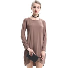Round Neck Fashion Long-sleeved Dress  NSJR30277