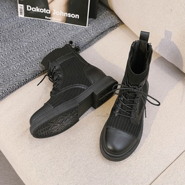 Fashion Breathable Plus Velvet Thick-soled Boots   NSNL30427