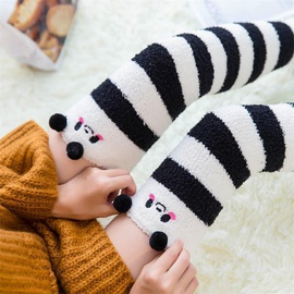 Over Knee Thick Warm Striped Socks  NSFN30495
