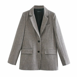 New Houndstooth Casual Suit Jacket  NSAM30503