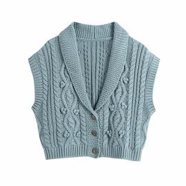 Spring Eight-strand Knitted Vest  NSAM30522