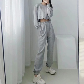 Fashion Loose Two-piece Sports Set NSAC30595