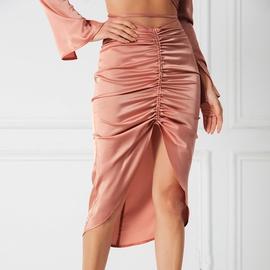 Drawstring Irregular Skirt  NSWX30910