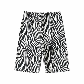 Zebra Print Cycling Shorts NSAC31310
