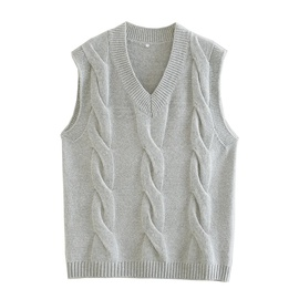 Autumn And Winter V-neck All-match Sweater Vest NSHS31430