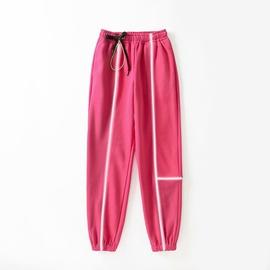 Reflective Strip Stitching Sweatpants  NSAC31661