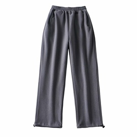 High-waisted Thickened Sports Trousers NSAC31669