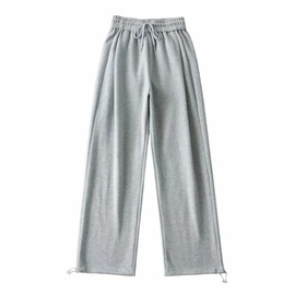High-waisted Drawstring Sports Pants  NSAC31677