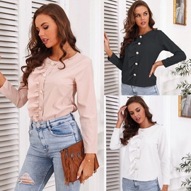 Casual Ruffled Top NSMY31773