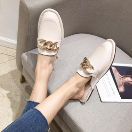 Popular Chain Casual Small Leather Shoes  NSCA31778