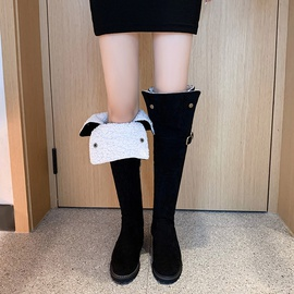 Trendy But Knee Snow Boots  NSCA31780