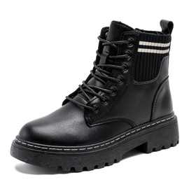 Locomotive Thick-soled Short Boots  NSNL32137