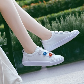 Fashion White Canvas Shoes  NSNL32149