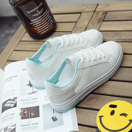 Fashion Cotton Comfortable White Sneakers NSNL32154
