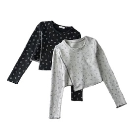 Printing Long-sleeved Sweater   NSLD32794