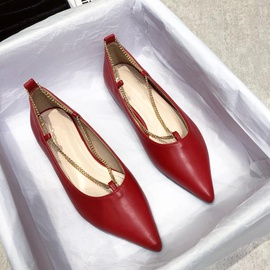 Flat-bottomed Fashion Shoes   NSCA33011