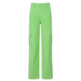 Pocket Straight Loose Casual Pants  NSLQ33737