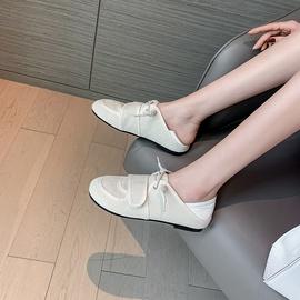 Round Toe Flat Bottom Velcro Canvas Shoes NSHU33833