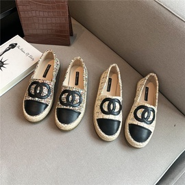 Round-toe Soft-soled Casual Single Shoes  NSHU33850