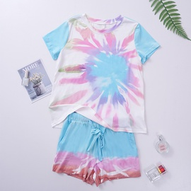 Short-sleeved T-shirt Shorts Two-piece Set  NSSI33880
