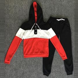 New Hooded Printed Sports Two-piece Sweatshirt NSKX33900