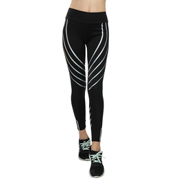 Printing High Waist Tight Sports Yoga Leggings  NSLX30969