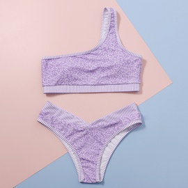 New Split High Waist Sexy Printed Bikini Swimsuit NSHL34075