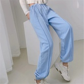 Spring Casual Loose Loose Thin Waistband Pants NSAC24913
