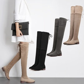 Autumn And Winter Fashion Sexy Low-heel Thick-heeled Boots  NSHU26938