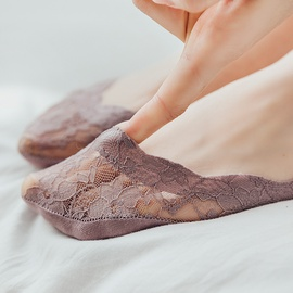 Lace Breathable Invisible Socks NSFN27144