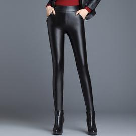 High Waist Leather Slim Stretch Tight Casual Pants  NSYY27229