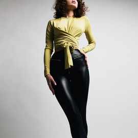 Fashion Sexy Casual PU Leather Pants NSSU35436