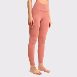Tight-fitting Slim Stitching Hip-lifting Fitness Trousers NSDS35685