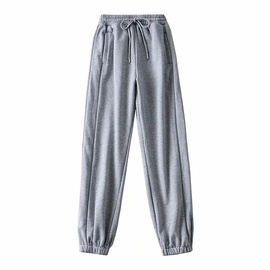 Reflective Stripes Stitching Sports Pants NSAC34391