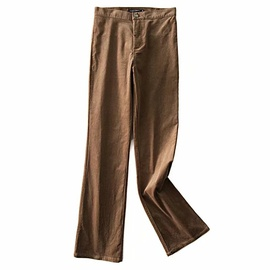 Casual Corduroy Flared Pants NSAC34413