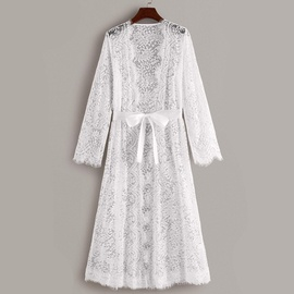 Lace Perspective Hollow Nightdress NSYO34472
