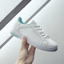 Shoelaces Waterproof Leather Mesh Shoes  NSNL34528