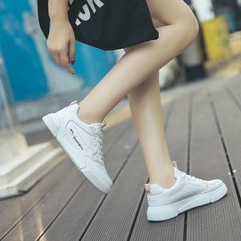 Thick Bottom Flat Casual Board Shoes   NSNL34530